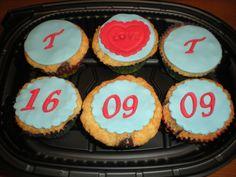 Cupcakes con trocitos de chocolate con leche!