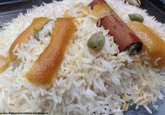 bijna net zo lekker als thuis: Rijstsafari - gestoomde rijst met kardemom, kaneel en sinaasappel