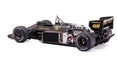 1986 Lotus 98T3 F1 Car of Ayrton Senna