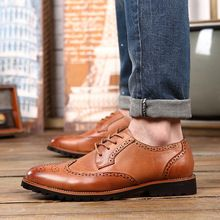 Like and Share if you want this  Leather Men Shoes 2016 Men's Dress Shoes Breathable Lace Casual Men 's Oxford Shoes Fashion Leather Shoes Chaussure Homme     Tag a friend who would love this!     FREE Shipping Worldwide     #Style #Fashion #Clothing    Buy one here---> http://www.alifashionmarket.com/products/leather-men-shoes-2016-mens-dress-shoes-breathable-lace-casual-men-s-oxford-shoes-fashion-leather-shoes-chaussure-homme/