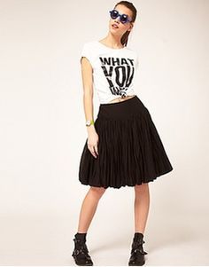 Women's Asos clothes and accessories | ASOS Fashion Finder  ASOS PUFFBALL SKIRT
