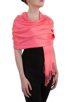 Opulent Luxury Pashmina Cashmere Scarf Shawl is woven from the finest 100% Cashmere wool which gives you the right amount of coverage during the colder seasons.