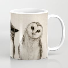 Buy The Owl's 3 Mug by Isaiah K. Stephens. Worldwide shipping available at Society6.com. Just one of millions of high quality products available.