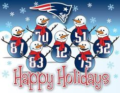 Patriots Happy Holidays