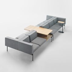 LAPSE is a comprehensive modular programme that transcends the classic concept of waiting area seating. The broad range of elements and accessories availab Waiting Room Design, Waiting Area, Sofa Furniture, Furniture Design, Cheap Furniture, Furniture Projects, Salas Lounge, Sofa Makeover, Reception Furniture