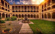 Claustro del Monasterio de ValdediosEditar by Mariluz Rodriguez Alvarez on 500px