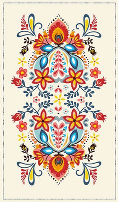 Would be a beautiful border painted on a frame more hungarian embroidery, folk embroidery, Hungarian Embroidery, Folk Embroidery, Embroidery Patterns, Mexican Embroidery, Shirt Embroidery, Embroidery Stitches, Pattern Art, Print Patterns, Floral Patterns