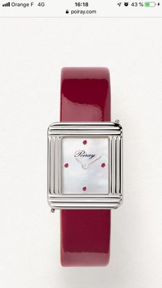 Square Watch, Apple Watch, Orange, Accessories, Ruby Gemstone, Bracelet Making, Bracelet Watch, Clock Art, Locs