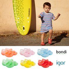 BONDI all colors... #jellyshoes #shoes #kids #igor #igorshoes #children #baby #moda #fashion #trends