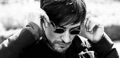 Girolamo Riario played by Blake Ritson in Da Vinci's Demons. He has nothing to do with the hystorical character but he's cool and he likes blood, so I love him. Oh, also, this is a gif, so you can click on it and see it moving. u _u