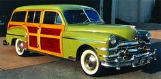 Well-Off Wagons - 1949-1959 Chrysler Town & Country - - Hemmings ...