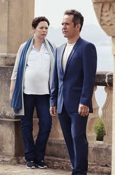 Olivia Colman pictured in BBC's adaptation of John le Carre novel The Night Manager