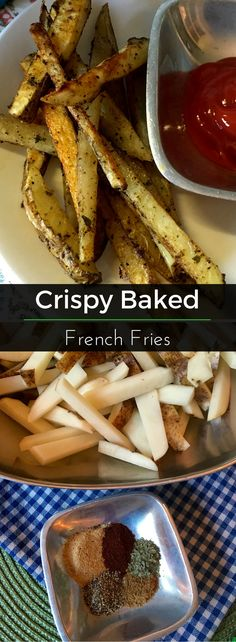 Crispy Baked French Fries are the the perfect companion to any dinner dish. Our nutritionist created the perfect combination of seasoning - just because they are not fried doesn't mean these fries lack any flavor!   Clearly Organic Nutritionist Corner