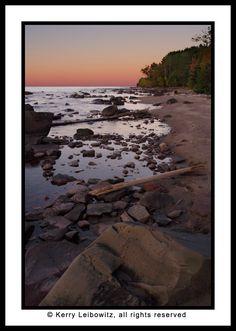 I love the Lake Superior area near Duluth, Minnesota.