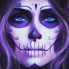 #skullpainting #skulls #sugarskull