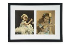 Two Color-Tinted Photographs of Young Shirley Temple in Party Dress $300+ | Fine Art & Rare Memorabilia  Rare Memorabilia  | Auctions Online | Proxibid