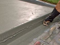 How to Patch and Resurface Concrete Steps