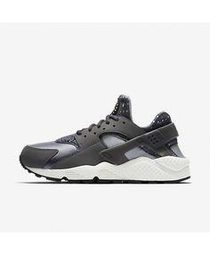 low priced f71fb 72ac2 Nike Air Huarache Print Dark Grey Wolf Grey Stealth Summit White Trainers