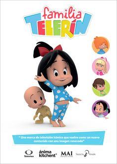 ONE: Televisa y Ánima Kitchent coproducirán una serie de televisión en inglés basada en La Familia Telerín