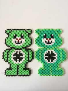 Care Bears hama perler beads by Louise Nielsen
