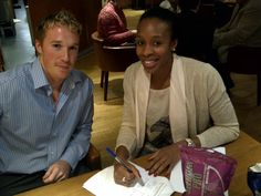 Managing Director James Markey & Pamela Cookey
