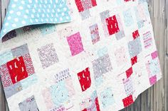 Sherbet Pips Quilt Kit by Aneela Hoey for Moda