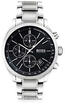 d0c33e006965 HUGO BOSS Grand Prix Stainless Steel Bracelet Watch. Relojes RolexReloj De  ...