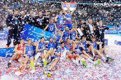 Serbia win FIVB World League 2016  #fivbworldleague #fivb #fivbvolleyball #volleyball #siatkowka #krakowarena #siatkówka #volley #serbia #poland #mpaimages #finalsix
