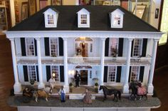 Gone With the Wind doll house. (on display at the Gone With The Wind Museum, Atlanta)