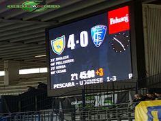 Contro un Empoli che veniva da quattro sconfitte consecutive i gialloblu si impongono fin da subito, rifilando quattro reti agli avversari toscani.