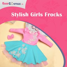 Frocks and girls cannot be separated. With an increase in the patterns and styles available in the market, parents get confused about what to buy and what not to. Baby Dress Online, Frocks For Girls, Trendy Kids, Stylish Girl, Baby Wearing, Kids Wear, Confused, Shop Now, Parents