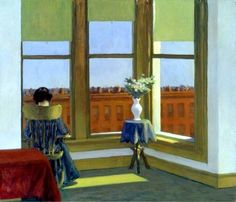 Edward Hopper - Room in Brooklyn (1932) Museum of Fine Arts, Boston, USA #art #painting #interior #twitart pic.twitter.com/By0RhQjGgo