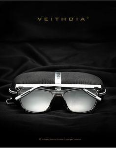 VEITHDIA Brand Unisex Retro Sunglasses For Men/Women - free shipping worldwide