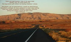 Know by heart!  Song of the Open Road - Walt Whitman