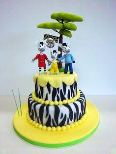 Pastel #Zou la cebra Third Birthday, Boy Birthday, Birthday Parties, Birthday Cakes, Biscuit, Amazing Cakes, Christening, Fondant, Ale