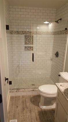 52 cozy farmhouse master bathroom remodel ideas 39 - Home Dekor Grey Bathroom Tiles, Bathroom Renos, Bathroom Flooring, Bathroom Renovations, Bathroom Ideas, Bathroom Makeovers, Modern Bathroom, Tiled Bathrooms, Bathroom Organization