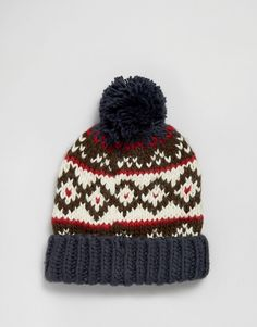 Top Fashion Gifts for Men - Keep your thoughts warm and dry with this Barbour beanie Barbour, Knit Beanie, Color Combos, Knitted Hats, Asos, Cute Outfits, Knitting, Gifts, Warm