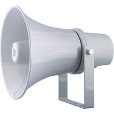 """Pyle PHSP101T 9.7-Inch Indoor/Outdoor with 70 Volt 20 Watts PA Horn Speaker by Pyle. $42.60. This 9.7"""" indoor/outdoor horn speaker is great for your 70 V audio system. Perfect for outdoor PA systems when you need your sound heard far and wide. This 20 watt speaker includes a 70 V transformer tappable at 20, 15, and 5 watts. Includes mounting bracket and hardware for easy installation. Let your voice be heard with the PHSP101T. Color: grey."""