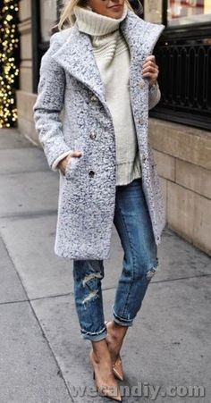 30 Awesome Jacket For Women Winter Casual Outfits – Fashion Trends Winter Outfits Women, Winter Coats Women, Casual Winter Outfits, Stylish Outfits, Summer Outfits, Autumn Outfits, Fashionable Winter Coats, Smart Casual Women Winter, Winter Fashion Casual