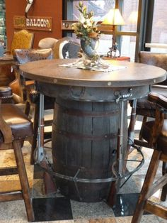 My fav...Outlaw Pub Table. for the man cave!? I think yes!
