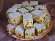 Prăjitură cu urdă şi goji Feta, Deserts, Dessert Recipes, Dairy, Cheese, Dessert, Desert Recipes, Desserts