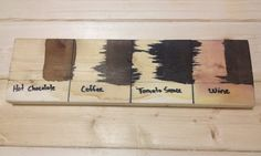 how to get black stains out of wood