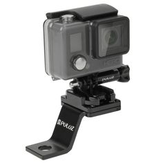 [$9.58] PULUZ Fixed Metal Motorcycle Holder Mount for GoPro HERO4 Session /4 /3+ /3 /2 /1(Black)