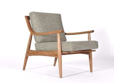 Perfect Adam Chair Natural Walnut