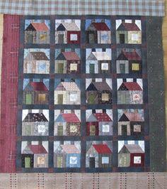 Christel's Quilts: Huis en tuin.