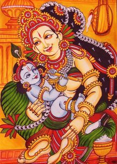 1000+ images about murals on Pinterest | Kerala, Indian paintings ...