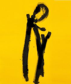 Robert Motherwell Yellow Chord, 1981 Aquatint and etching Moma Nyc, Robert Motherwell, Walker Art, Helen Frankenthaler, Art Walk, Mark Rothko, Paul Gauguin, Contemporary Paintings, Abstract Paintings