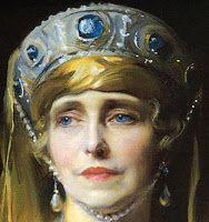 Tiara Mania: Grand Duchess Maria Pavlovna of Russia's Sapphire & Diamond Kokoshnik
