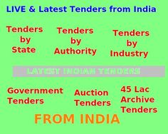 http://tenders.indiamart.com/ Find >70,000/- LIVE Indian Tenders information published by various authorities, states and industry absolutely free at given site