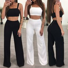 21de5c7bb9 Bodycon Summer Jumpsuit Romper Women Two Piece Suit Sexy High Waist Tank  Sleeveless Bandage Overalls 2017 New Playsuit